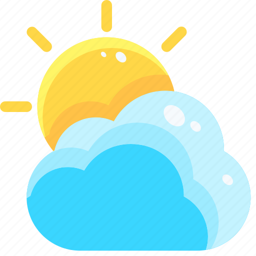 Atmospheric, cloud, cloudy, meteorology, sky, sun, weather icon - Download on Iconfinder
