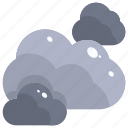 atmospheric, cloud, clouds, cloudy, meteorology, sky, weather icon