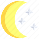 astronomy, clear, moon, night, phase, phases, stars
