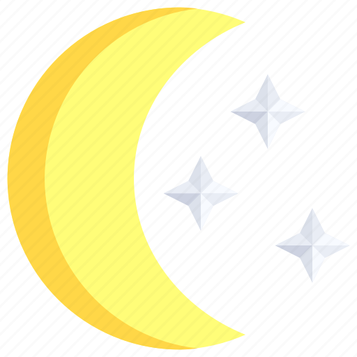 astronomy, clear, moon, night, phase, phases, stars icon