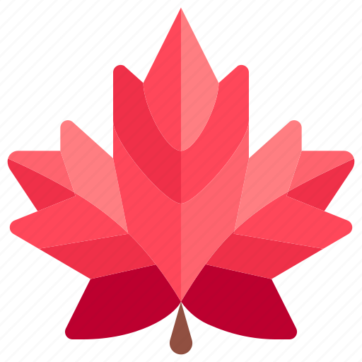 autumn, fall, leaves, maple, nature, tree, weather icon