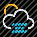 cloud, condition, forecast, rain, weather