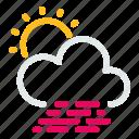 cloudy, forecast, sun, weather, wind