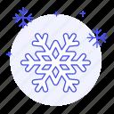 blizzard, meteorology, snowflakes, time, weather, winter icon