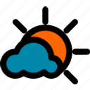 cloud, cloudy, summer, sun, sunny, vacation, weather
