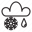 nature, rain, season, sky, snow, weather, world