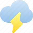 thunderstorm, thunder, cloud, weather