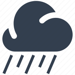 cloud, rain icon