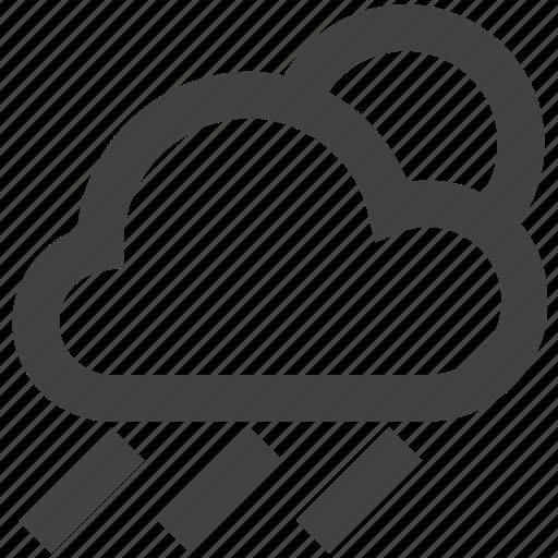 Cloud, rain, snow, sun, weather icon - Download on Iconfinder