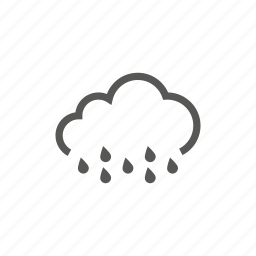 cloud, heavy, rain, raining, weather icon