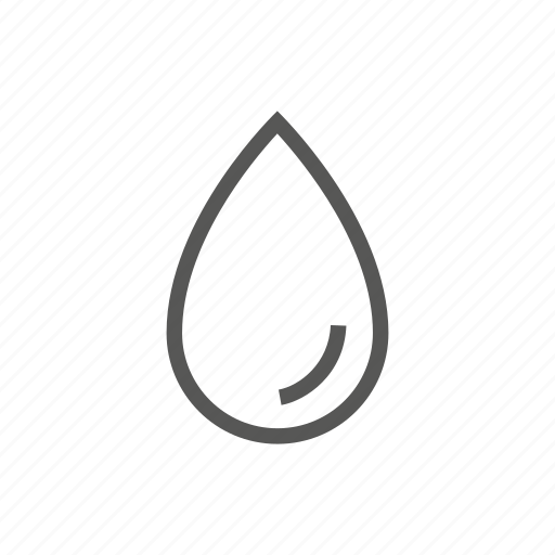 drop, raining, water, weather icon