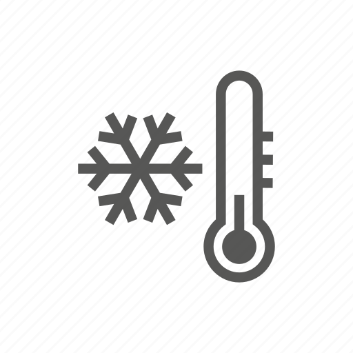 cold, frost, temperature, weather, winter icon