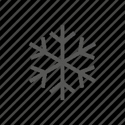 cold, flake, freezing, freze, snow, snowing, winter icon