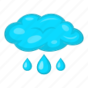 autumn, cloud, rain, raindrop, weather icon