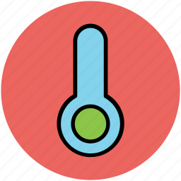 celsius, instrument, meteorology, temperature, thermometer icon