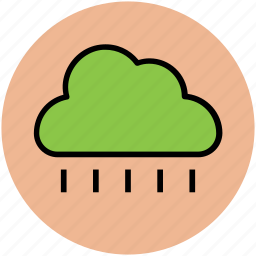 nature, pleasant weather, rain, raining, rainy weather, weather icon