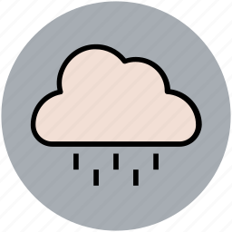 nature, pleasant weather, rain, raining, rainy weather, weather icon