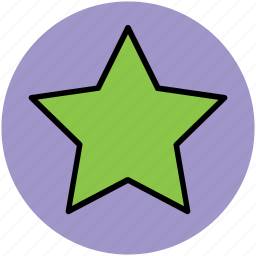 favorite symbol, five pointing star, like, star shape icon