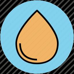 blood, drop, rain drop, tear, water drop icon