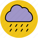 heavy rain, nature, pleasant weather, raining, rainy weather, weather icon