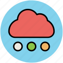 nature, pleasant weather, rain, rain drops, raining, rainy weather, weather icon
