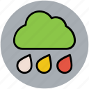 nature, pleasant weather, rain, rain drops, raining, rainy weather, weather icon