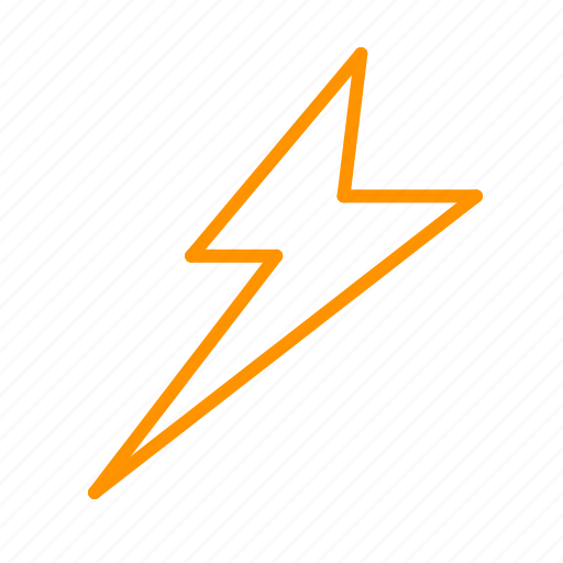 color, lightning, weather icon
