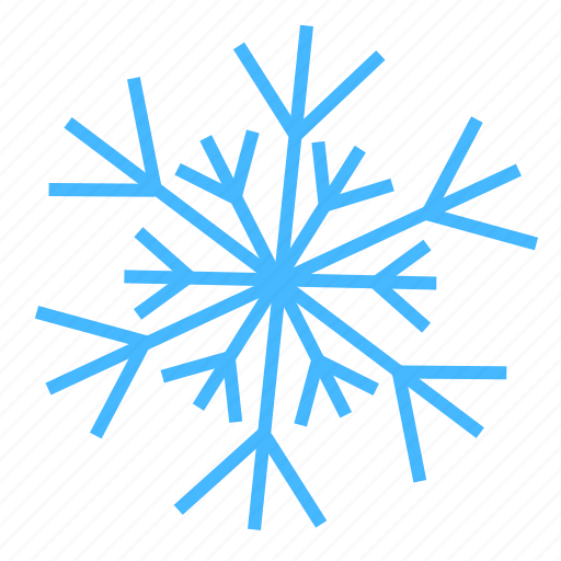 color, snow, snowflake, weather icon
