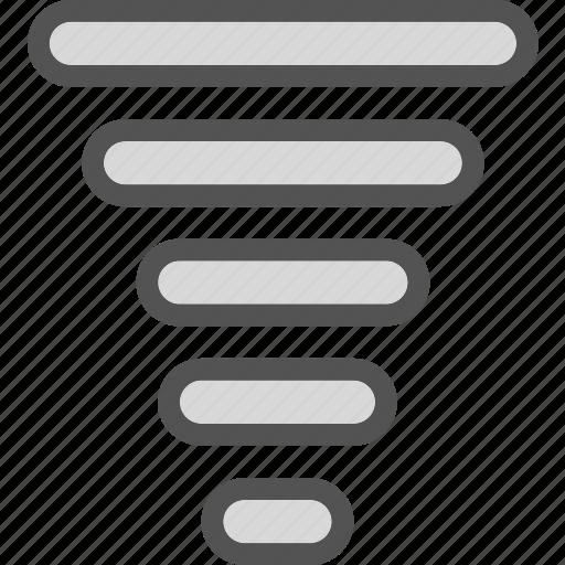 huragane, levels, signal, storm icon