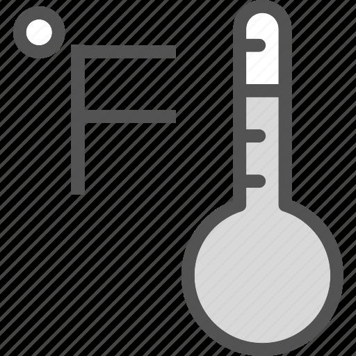 fahrenheit, mercury, temperature, weather icon