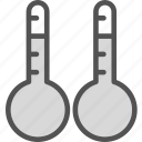 celsiuscomparison, cold, heat, temperature icon