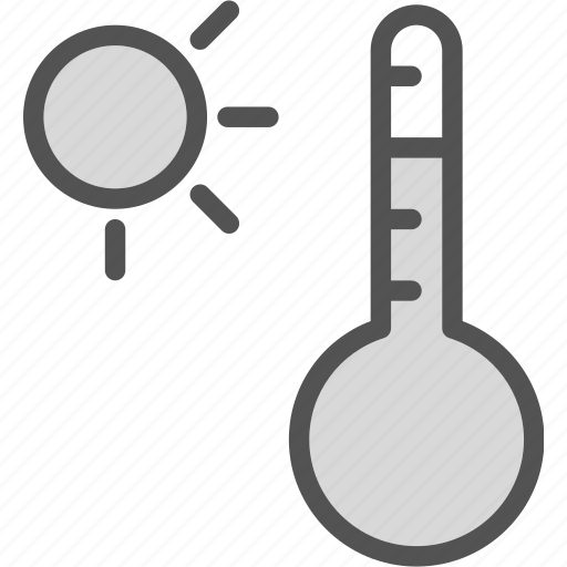 celsius, cold, daytemperature, heat icon