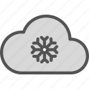 clouds, moon, night, snowingweather, stars icon