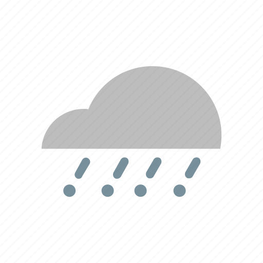 cloud, flat design, forecast, snowfall, storm, weather, winter icon