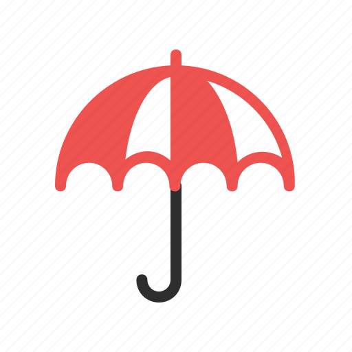 cloud, rain, sun, umbrella, weather, winter icon