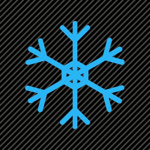 christmas, forecast, snow, snowflake, weather, winter icon