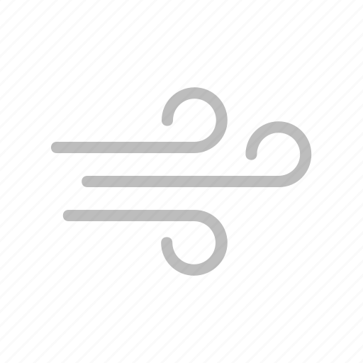 flat design, forecast, swirk, wave, weather, wind, windy icon