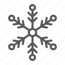 climate, cold, sign, snow, snowflake, weather icon