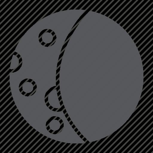 dark, full, lunar, moon, night, sky, weather icon