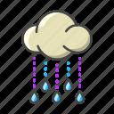 weather, forecast, cloud, rain, rainy, drop