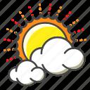 weather, forecast, sun, clouds, sunny, cloudy, sunshine