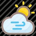 wind, sun, cloud, weather, forecast, rain, cloudy