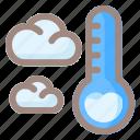 temperature, cloud, weather, sun, forecast, rain, cloudy