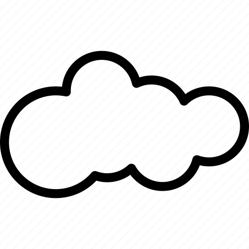 cloud, cloudy, forecast, nature, weather icon