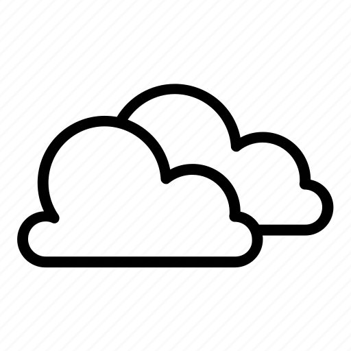 cloud, clouds, cloudy, cold, dark, forecast, weather icon