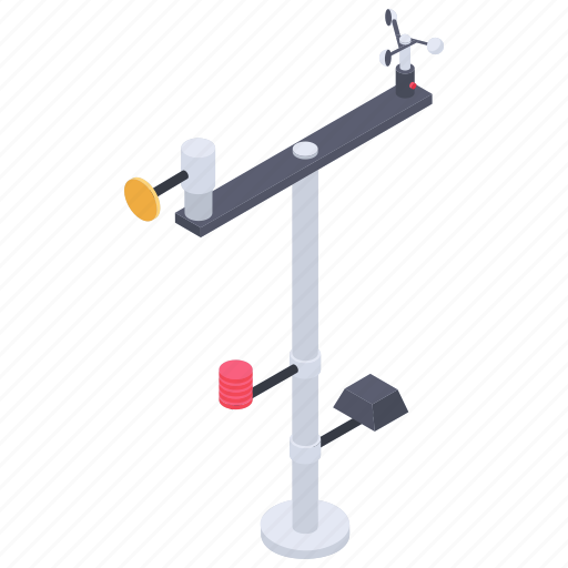 anemometer, atmospheric equipment, weather broadcast, weather forecast, weather station icon