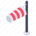 airport flag, airsock, flagpole, meteorology, wind cone, windsock