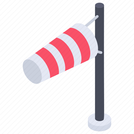 airport flag, airsock, flagpole, meteorology, wind cone, windsock icon