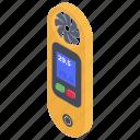 anemometer, scientific instrument, weather instrument, wind instrument, wind meter icon