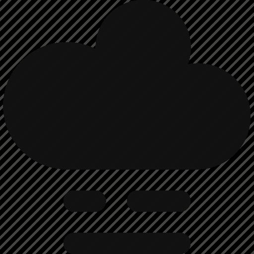 climate, cloud, cloudy, fog, foggy, sky, weather icon
